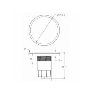 Прожектор светодиодный Aquaviva (LED028-99led)